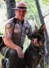 K9 Miro and Handler Ranger Gilbertson